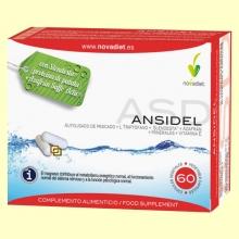 Ansidel - Control del Apetito - 60 cápsulas - Novadiet