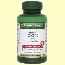 CoQ-10 - Q-Sorb - 60 cápsulas - Nature's Bounty