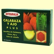 Calabaza y Ajo Plus - Integralia - 60 cápsulas