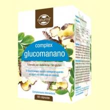 Glucomanano Complex 500mg - 60 cápsulas - Naturmil