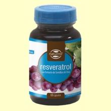 Resveratrol 400mg - 60 cápsulas - Naturmil *
