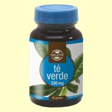 Té Verde 500mg - 45 cápsulas - Naturmil
