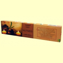 Incienso Nutmeg - 15 gramos - Goloka