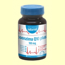 CoEnzima Q10 Plus 100mg - 60 cápsulas - Naturmil *