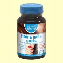 Hair & Nails Complex - 60 comprimidos - Naturmil