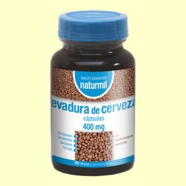 Levadura de Cerveza Viva 400mg - 45 cápsulas - Naturmil