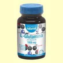 L-Glutamina 1000mg - 60 comprimidos - Naturmil *