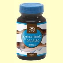 Aceite de Hígado de Bacalao 1000mg - 45 perlas - Naturmil *