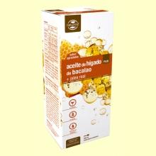 Aceite de Hígado de Bacalao con Jalea Real Plus - 500 ml - Naturmil *