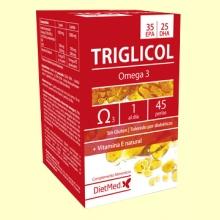 Triglicol Omega 35/25 - 45 perlas - Dietmed *