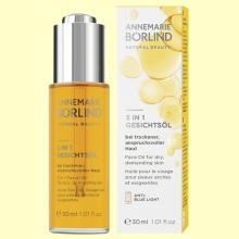 Aceite Facial 3en1 - Anti Blue Light - 30 ml - Anne Marie Borlind