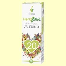 Extracto de Valeriana - Herbodiet - 50 ml - Novadiet