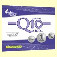 Coenzima Q10 100 mg - 30 cápsulas - Pinisan Laboratorios