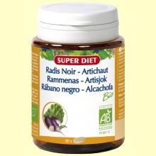 Rábano Negro y Alcachofa Bio - 80 comprimidos - Super Diet