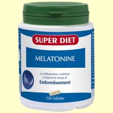 Melatonina - 120 cápsulas - Super Diet