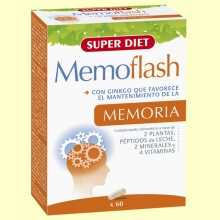 Memoflash Cápsulas - Memoria - 60 cápsulas - Super Diet