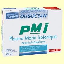 PMI Plasma Marino Isotónico - 20 ampollas - Super Diet