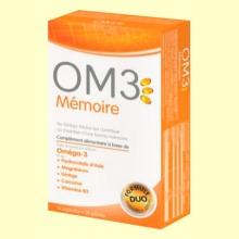 OM3 Memoria - 15 perlas + 15 cápsulas - Super Diet