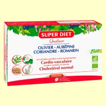 Cuarteto Cardio Bio - Sistema Cardiovascular - 20 ampollas - Super Diet