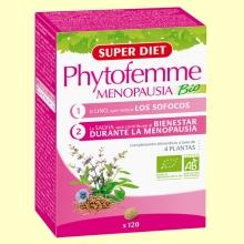 Phytofemme Menopausia Bio - 120 comprimidos - Super Diet