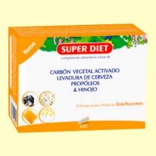 Cuarteto Hinojo - Hinchazones - 45 cápsulas - Super Diet