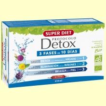 Protocolo Detox Bio - 30 ampollas - Super Diet