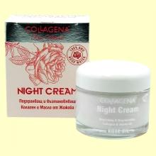Crema de Noche - Nutritiva y Regeneradora - 50 ml - Collagena