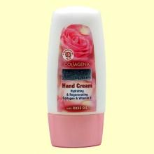 Crema de Manos con Aceite de Rosas y Colágeno - 65 ml - Collagena