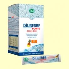 Diuerbe Forte Pocket Drink - Sabor Piña - 24 sobres - Laboratorios Esi