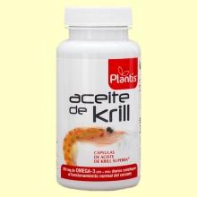 Aceite de Krill - 90 cápsulas - Plantis