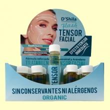 Flash Tensor Facial Bio - 10 ml - D'Shila