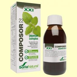 Composor 22 - Jaquesan Complex - Fórmula XXI - 100 ml - Soria Natural