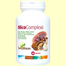 MicoComplex6 400 mg - 90 cápsulas - Sura Vitasan