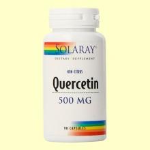 Quercitina No Cítrica - 90 cápsulas - Solaray