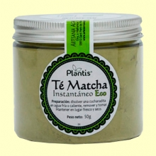 Té Matcha Instantáneo Eco - 50 gramos - Plantis