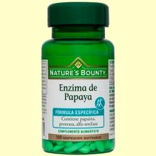 Enzima de Papaya - 100 cápsulas - Nature's Bounty
