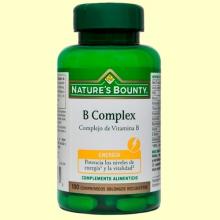 B-Complex - 100 cápsulas - Nature's Bounty