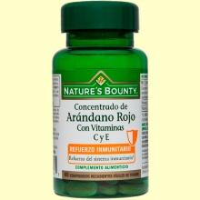 Concentrado de Arándano Rojo - 60 comprimidos - Nature's Bounty