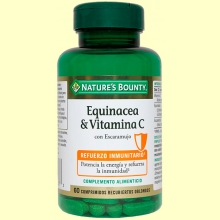 Equinacea & Vitamina C - 60 cápsulas - Nature's Bounty