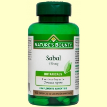 Sabal 450 mg - 60 cápsulas - Nature's Bounty