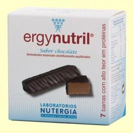 Ergynutril Barritas Chocolate - 7 barritas - Nutergia