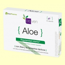 Disven Aloe - Regularidad Interior - 30 cápsulas - Venpharma