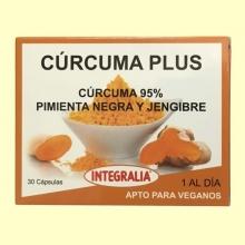 Cúrcuma Plus - 30 cápsulas - Integralia