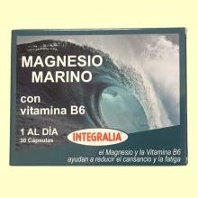 Magnesio Marino con Vitamina B6 - 30 cápsulas - Integralia