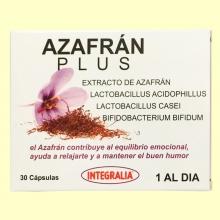 Azafrán Plus - 30 cápsulas - Integralia