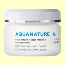 Aquanature Crema de Noche Hialurónica - 50 ml - Anne Marie Börlind