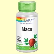 Maca - Solaray - 100 cápsulas de 525 mg