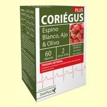 Coriegus - Sistema Cardiovascular - 60 cápsulas - Dietmed *