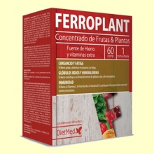 Ferroplant - Hierro y Vitaminas - 60 comprimidos - Dietmed *