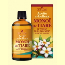 Aceite de Monoï de Tiaré - 100 ml - Natysal